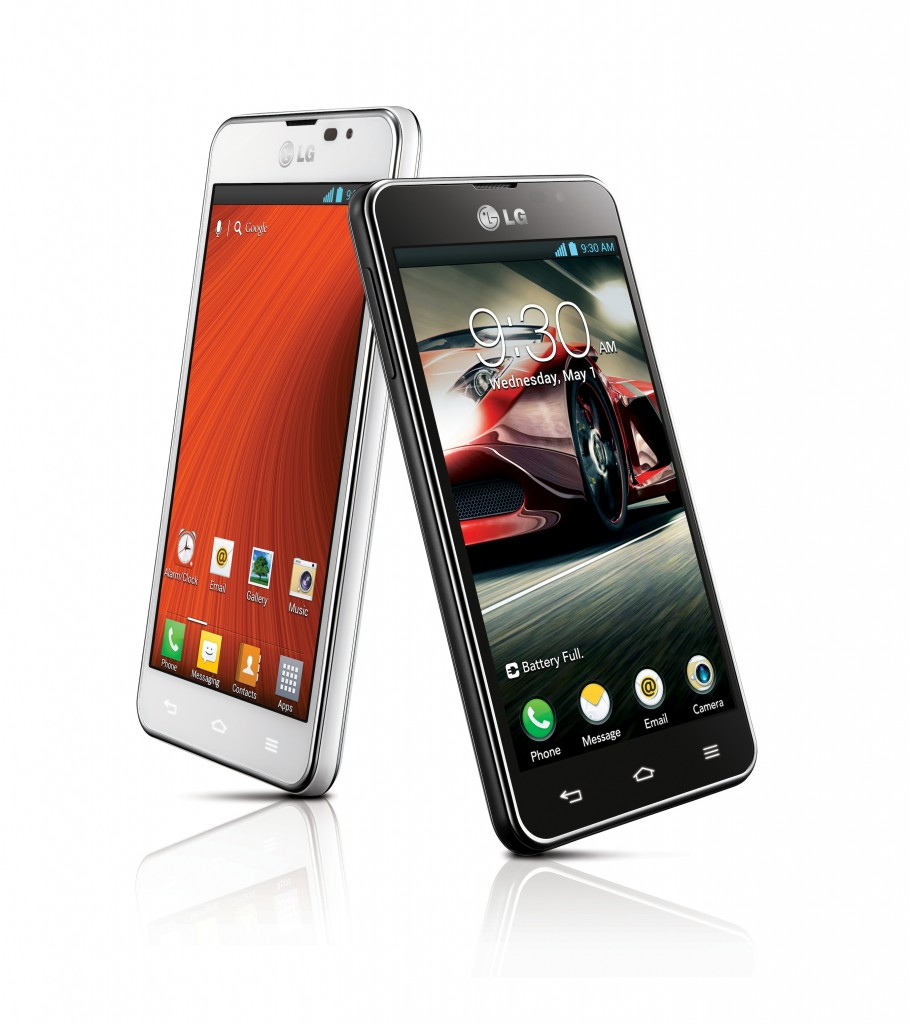 LG Optimus F5 Black & White