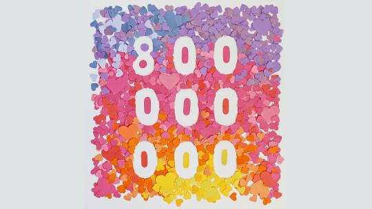 Instagram raggiunge gli 800 milioni di utenti attivi mensilmente