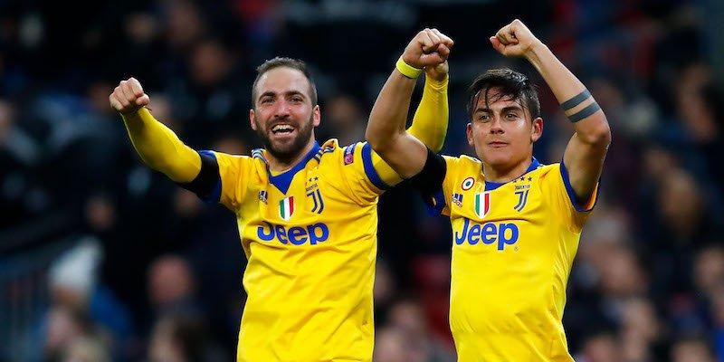 Champions: Juve vince a Wembley e passa