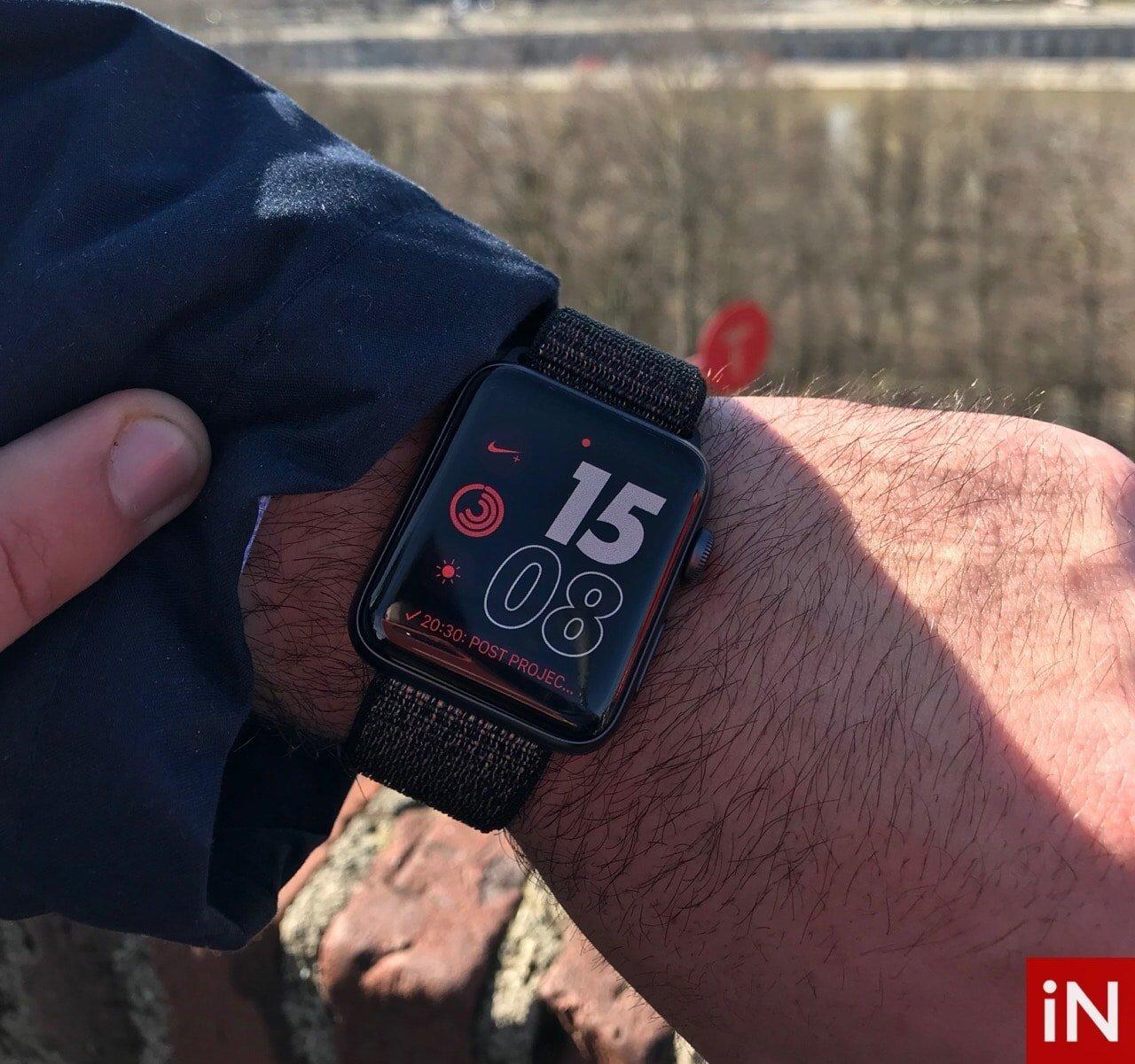 Apple Watch 3 al polso