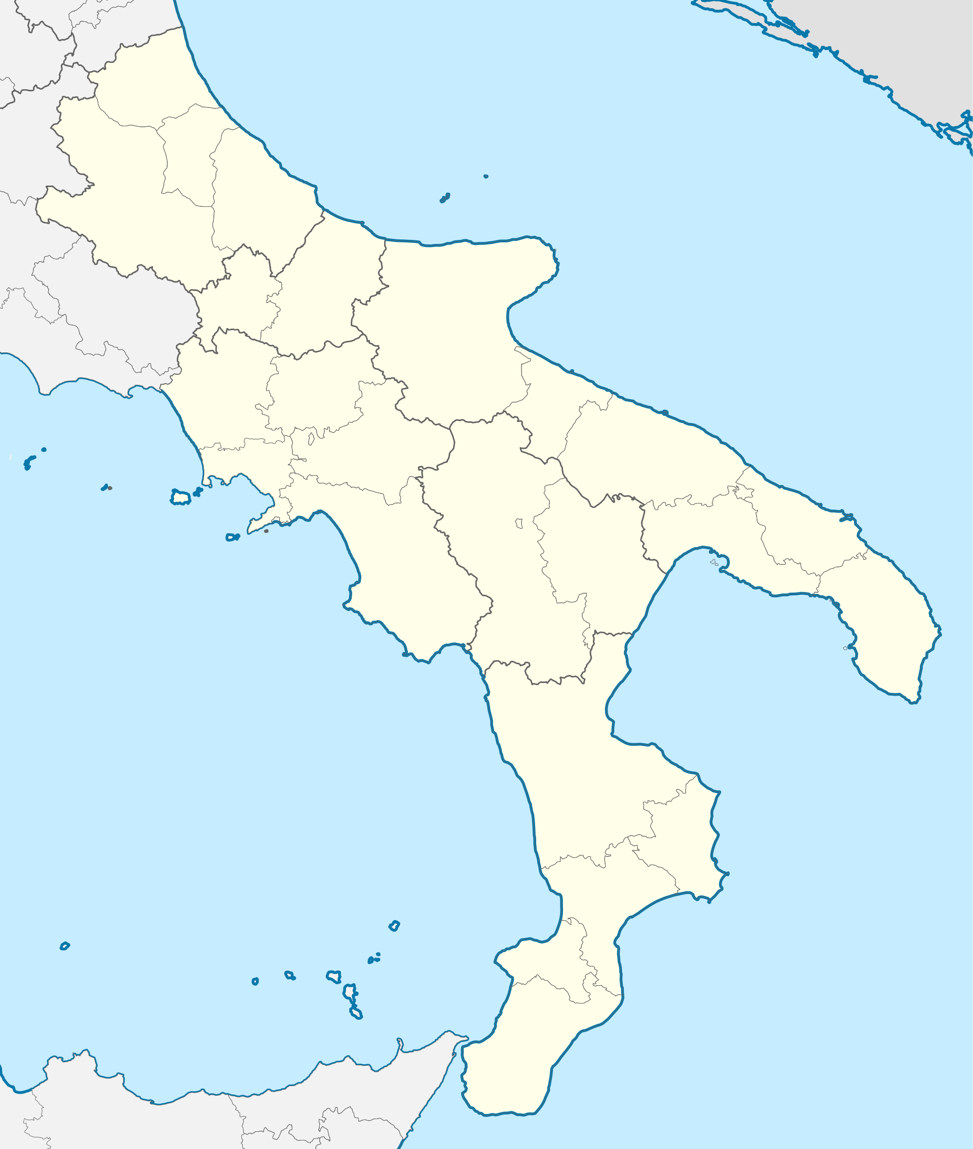 Meteo sud italia