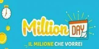 Million Day oggi: estrazione del 22 ottobre 2020, numeri e premi