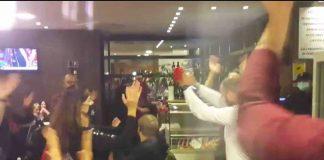 Pesaro la cena protesta irruzione della Polizia