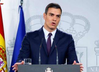 Premier Spagnolo_pedro_sanchez ha dichiaratp lo Stato di Allerta per la spagna