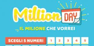 Million Day oggi: estrazione del 28 ottobre 2020, numeri e premi