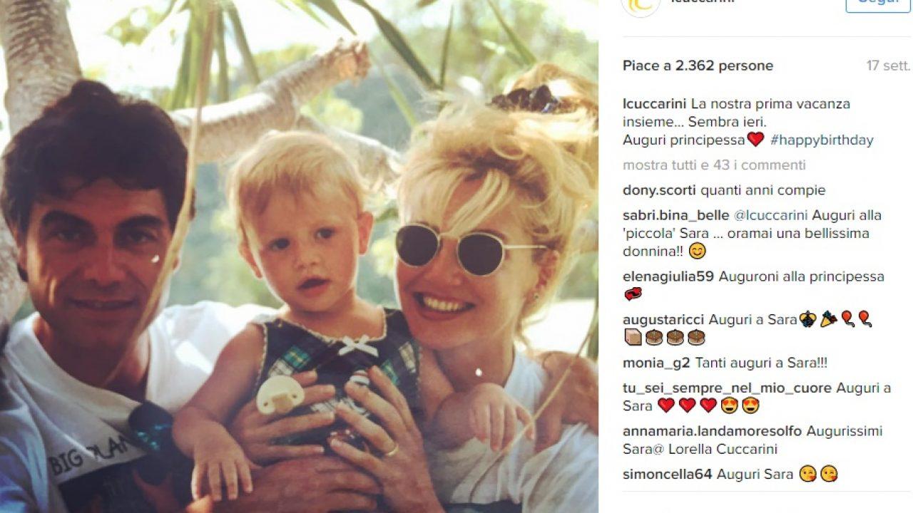 Cuccarini famiglia Instagram