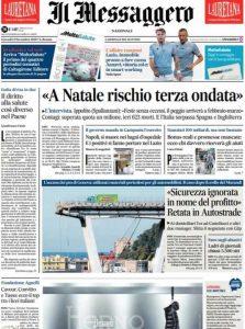 Rassegna stampa 12 novembre. I principali quotidiani italiani