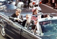 John Fitzgerald Kennedy, pochi secondi prima dell'omicidio