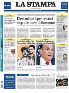 Rassegna stampa 21 novembre. I principali quotidiani italiani
