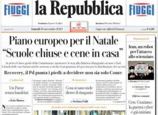 Rassegna stampa 30 novembre. I principali quotidiani italiani