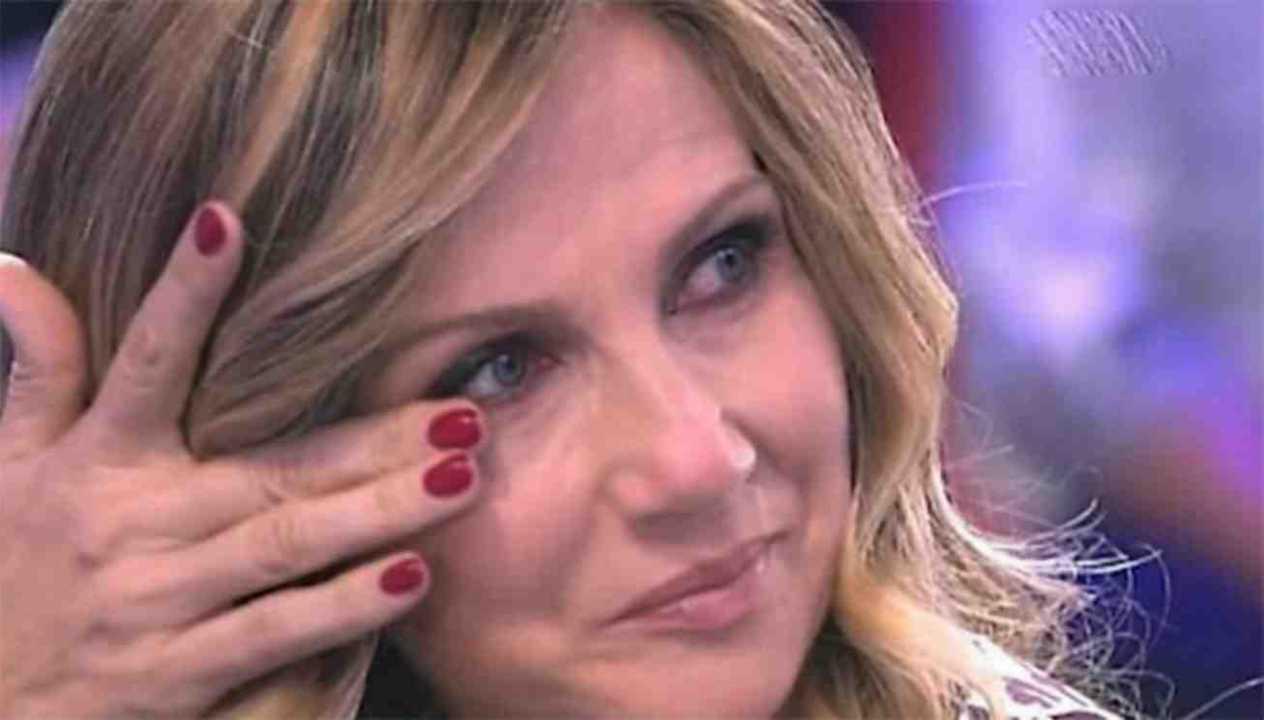 Lorella Cuccarini lacrime
