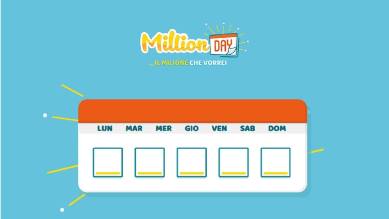 Million Day oggi: estrazione del 5 novembre 2020, numeri e premi