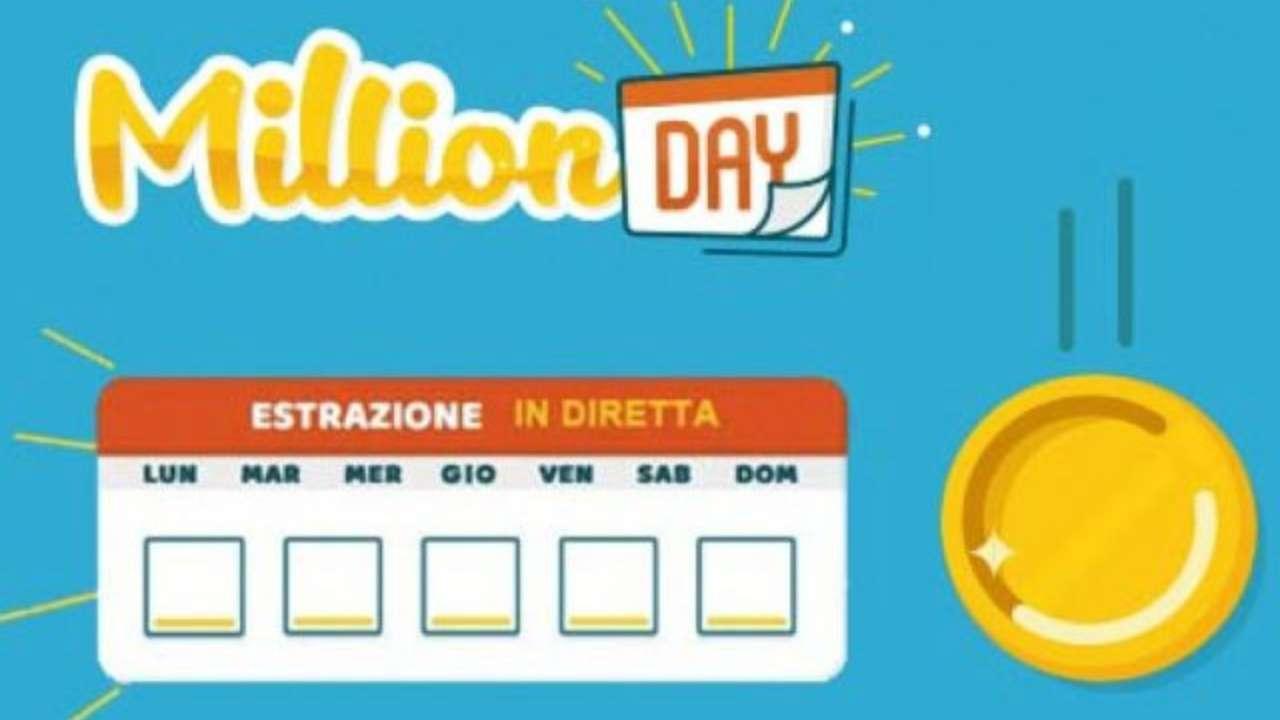 Million Day oggi: estrazione del 14 novembre 2020, numeri e premi