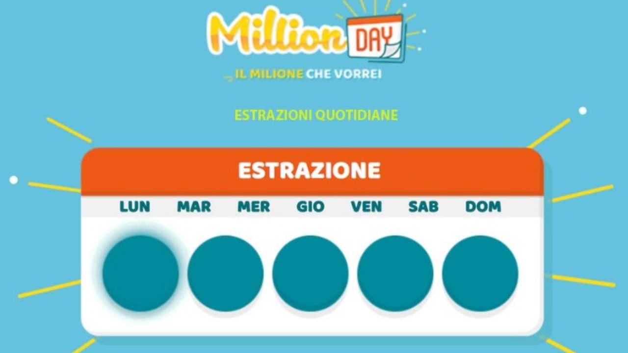 Million Day oggi: estrazione del 21 novembre 2020, numeri e premi