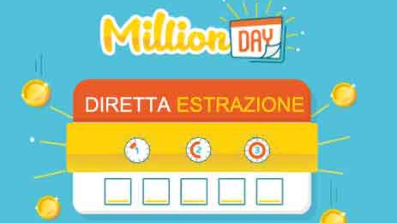 Million Day oggi: estrazione del 10 novembre 2020, numeri e premi