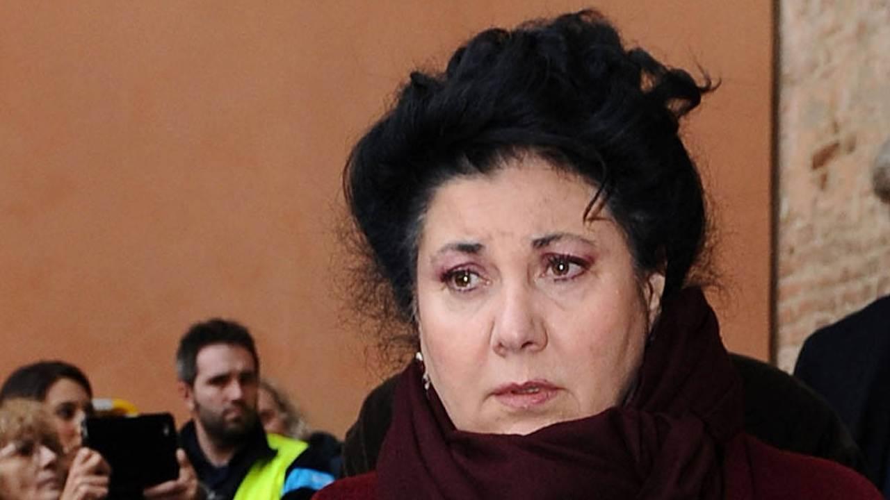 Marisa Laurito, il saluto struggente al funerale di Gigi Proietti
