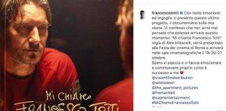 'Mi chiamo Francesco Totti', un emozionante viaggio nella vita del capitano