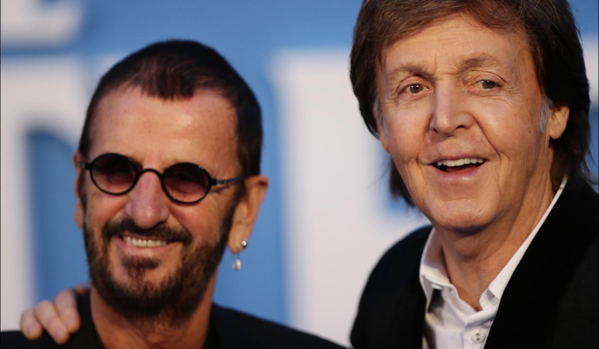 Paul McCartney e Ringo Starr oggi