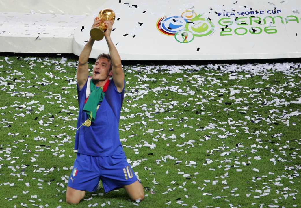 Totti Coppa del Mondo