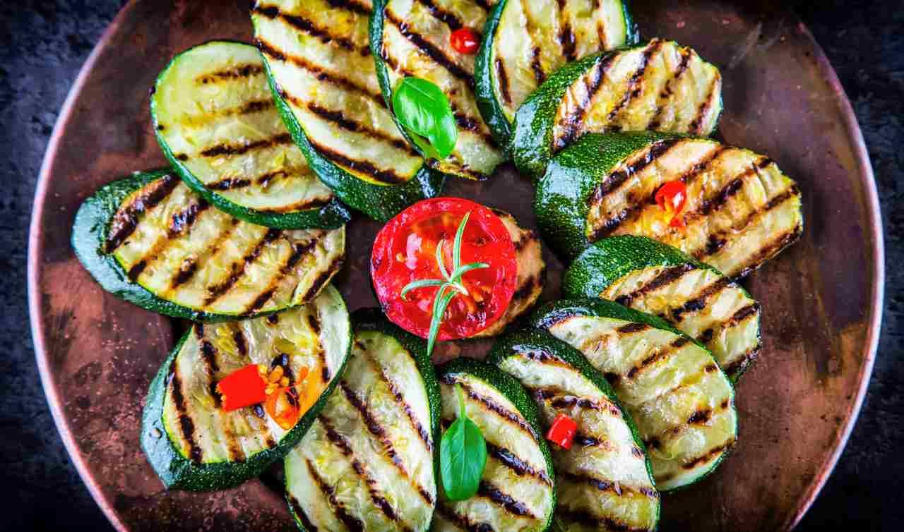 zucchine grigliate segreto