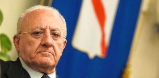 Lockdown, la Campania oggi potrebbe diventare zona rossa