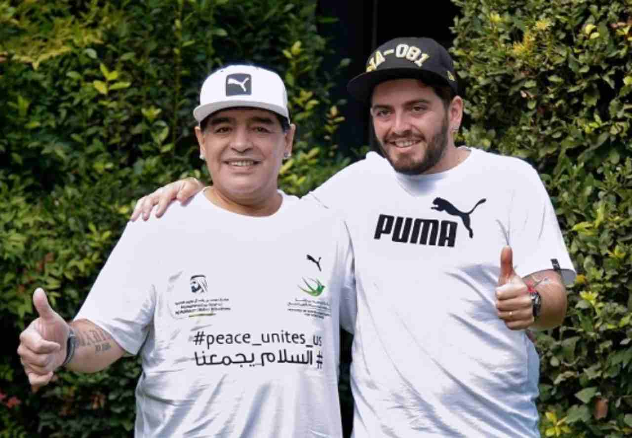 Svaligiata cassaforte di Maradona: