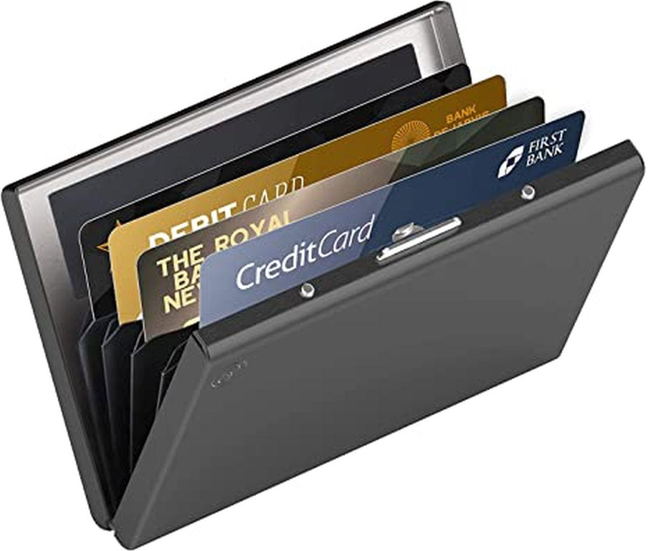 Un porta carte di credito schermato