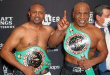 L'incontro spettacolo di boxe tra Mike Tyson e Roy Jones jr. finisce in parità