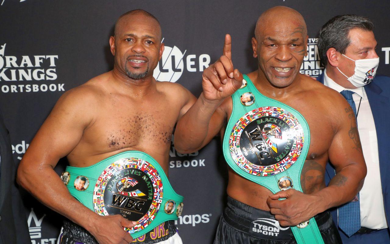 Il ritorno di Tyson finisce in parità