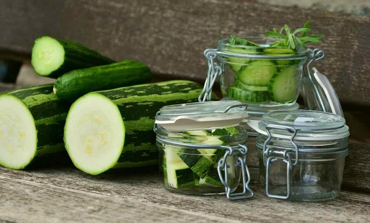 Zucchine e cetrioli