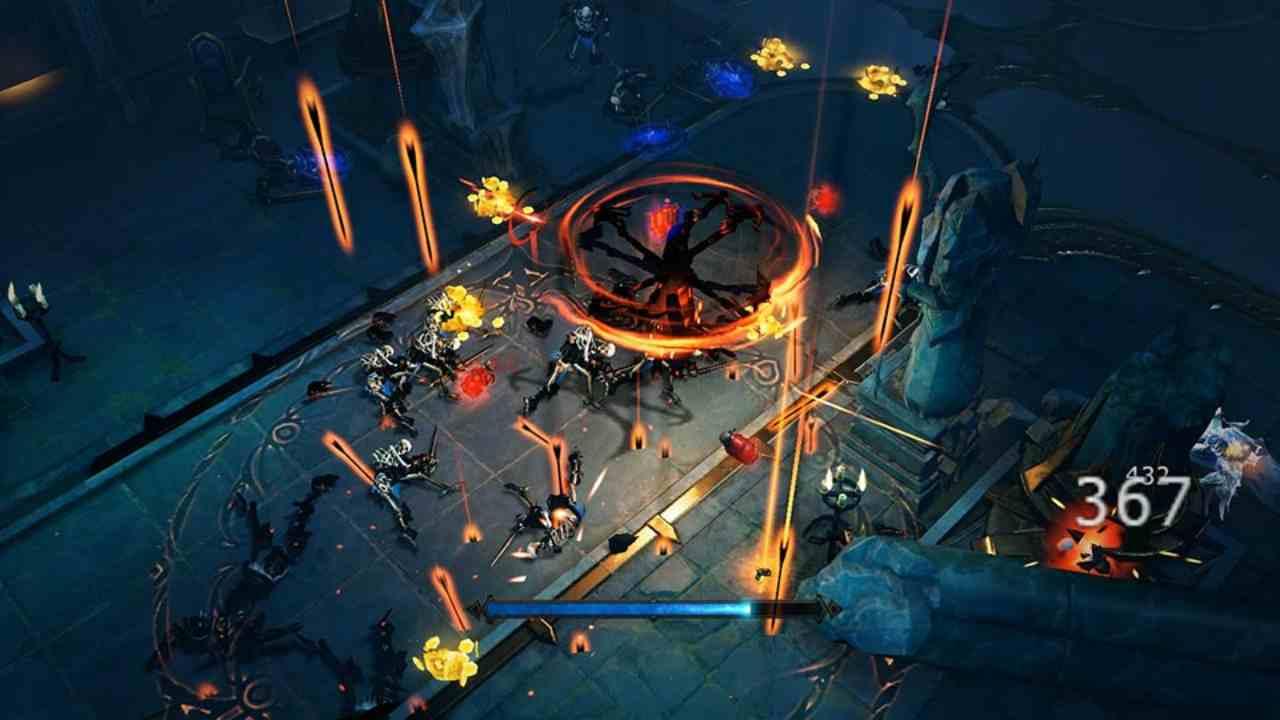 Uno screen del gioco