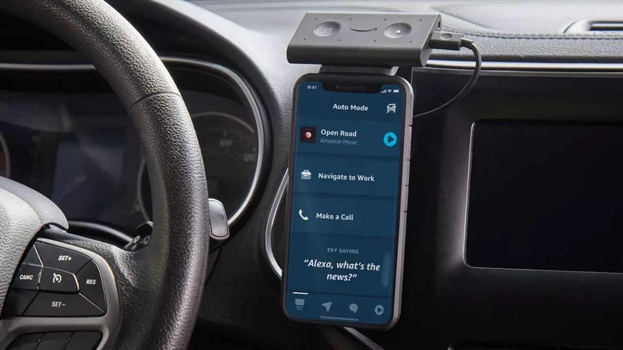 Alexa in automobile