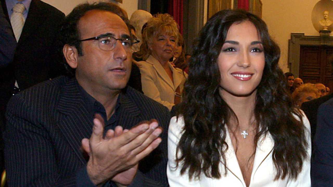 Caterina Balivo e Carlo Conti