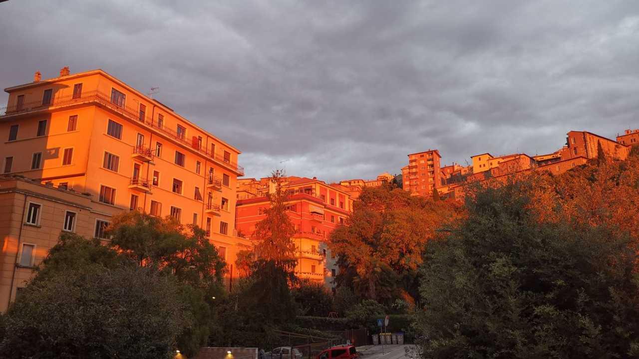 Cielo nuvoloso a Perugia
