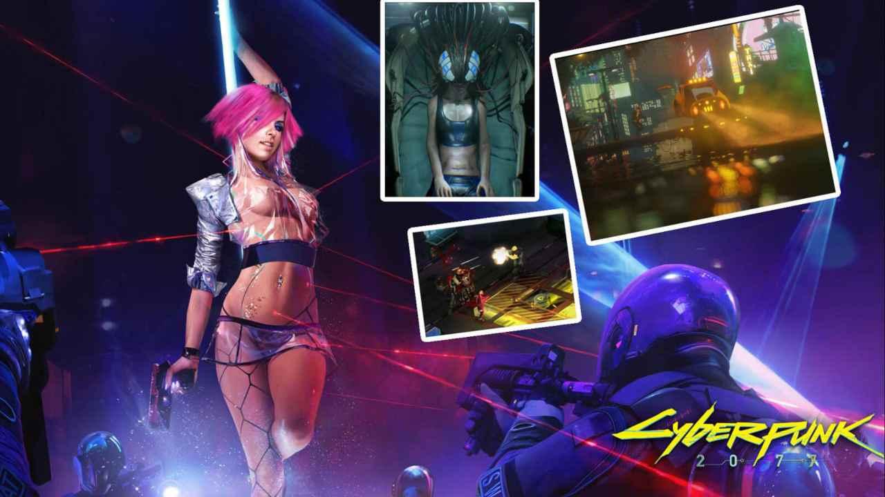Scene di nudo Cyberpunk 2077