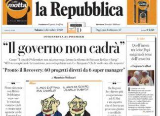 Rassegna stampa 5 dicembre. I principali quotidiani italiani