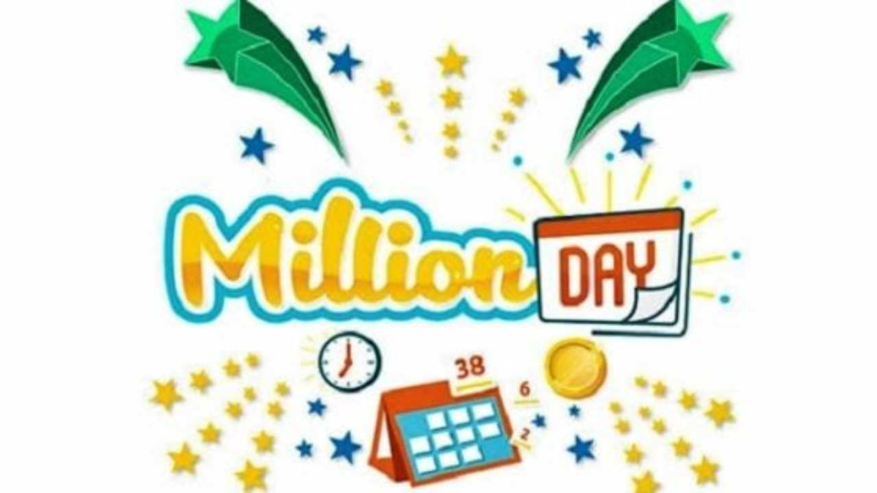 Million Day giovedì 14 gennaio |  tutti i numeri vincenti