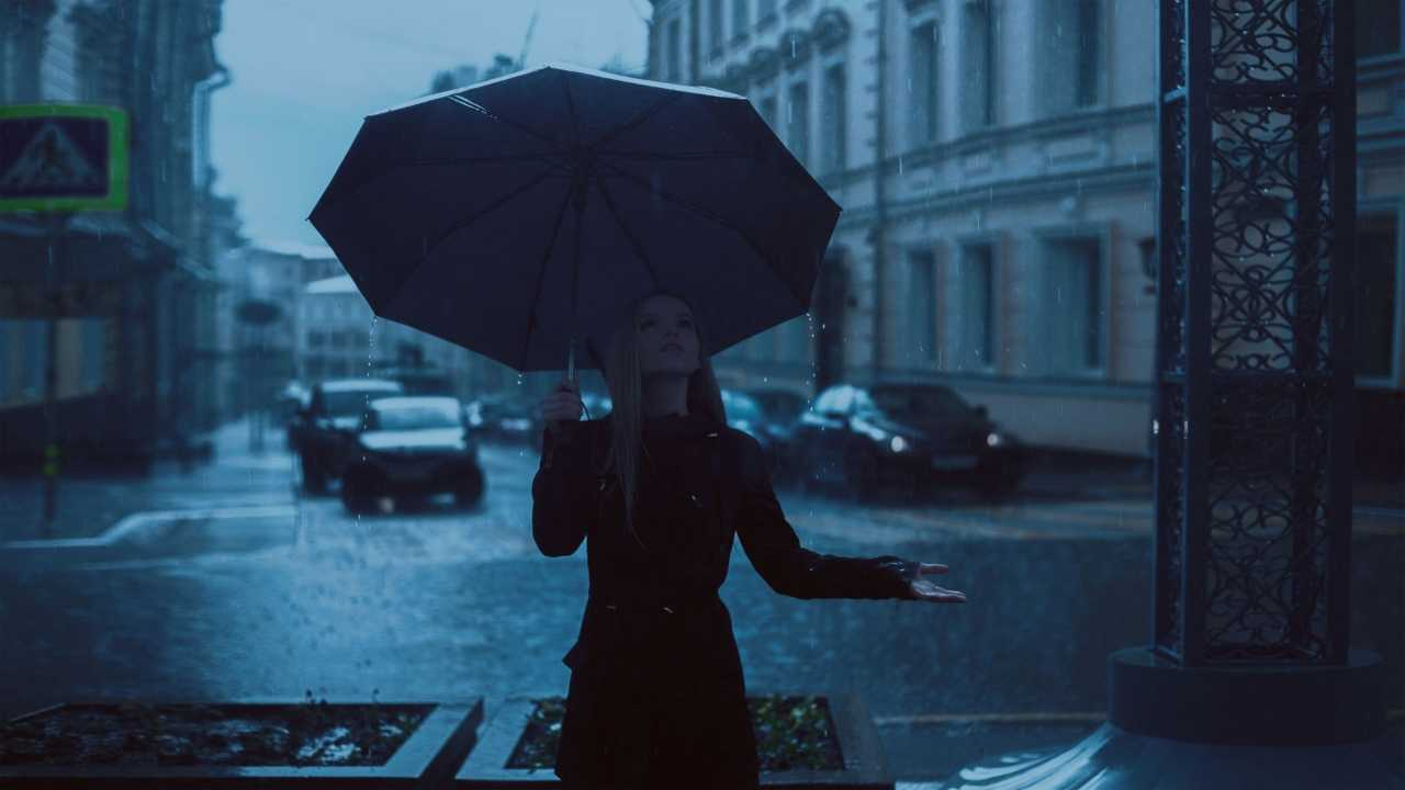 Ombrello per la pioggia