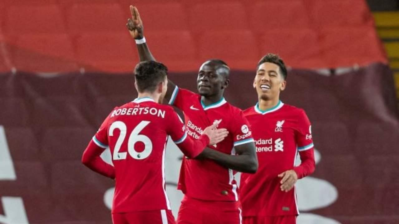 Giocatori del Liverpool