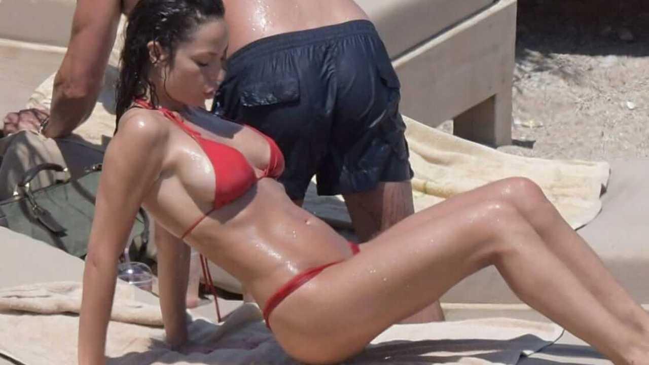 Raffaella Fico bikini