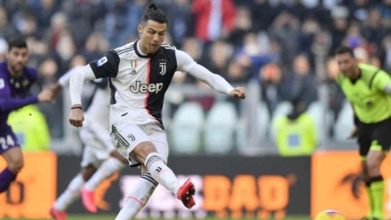 Ronaldo in Juve Fiorentina