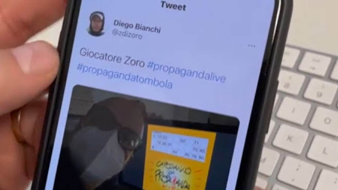 Tweet di Diego Bianchi
