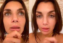 Elettra Lamborghini, confessione in vasca