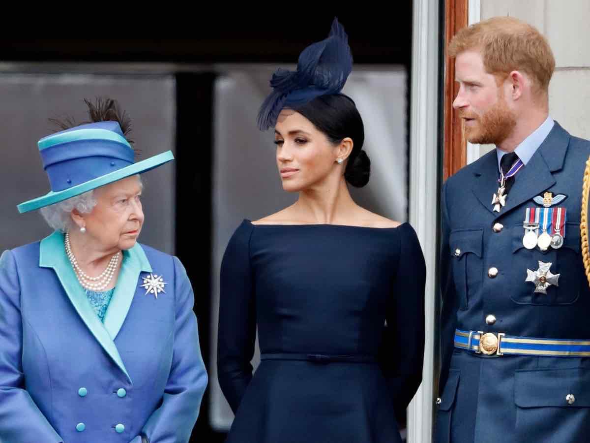 harry-meghan-e la regina Elisabetta