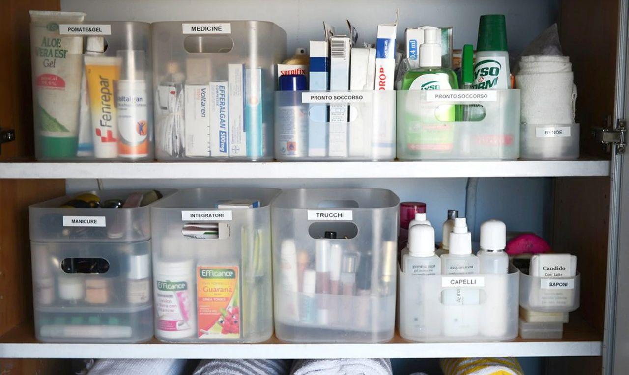 medicinali ben organizzati