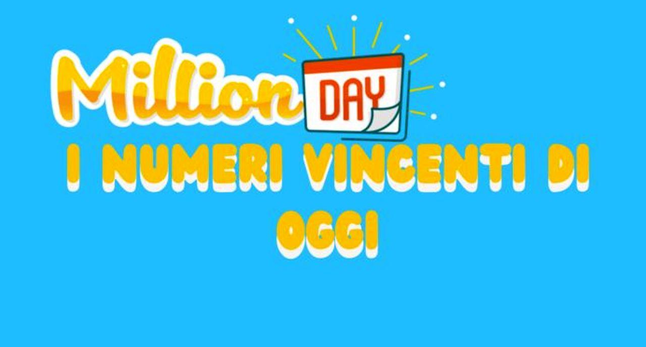Million Day oggi: estrazione del 16 dicembre 2020, numeri e premi