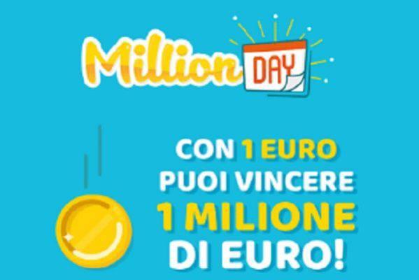 Come ogni giorno anche questa sera dalle 19 seguiremo l'estrazione del Million Day di oggi, lunedì 22 dicembre 2020. I numeri vincenti