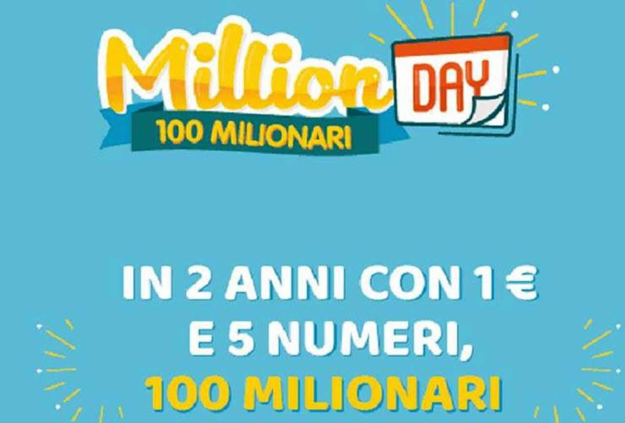 Million Day oggi: estrazione del 29 dicembre 2020, numeri e premi