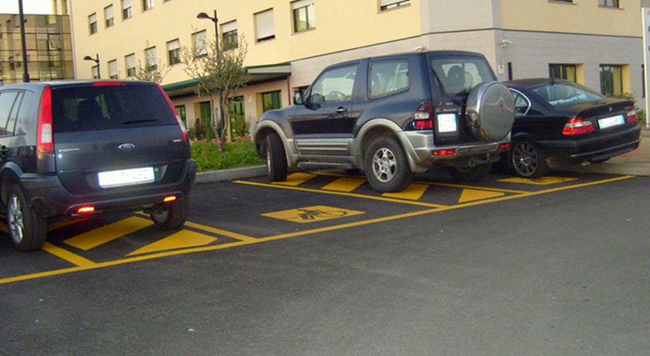 Parcheggio invalidi