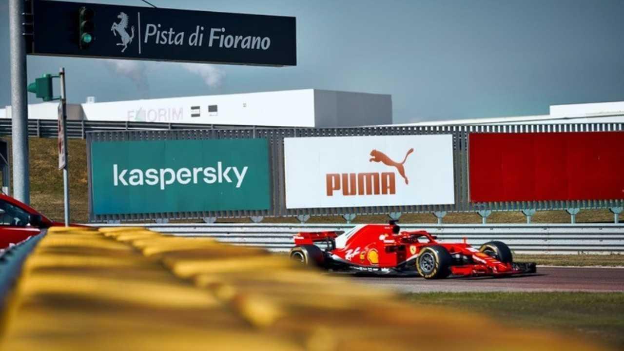 La Ferrari a Fiorano